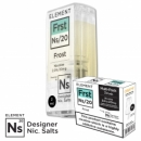 "Nikotinsalz Liquid aspire Gusto - ELEMENT ""Frst"" Ns20 POD, 3er Pack"